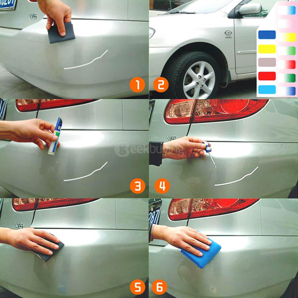 Paint For Cars >> Car Body Paint Scratch Repair Pen Painting Up Car Paint Pen For Bmw 2 Black 12ml