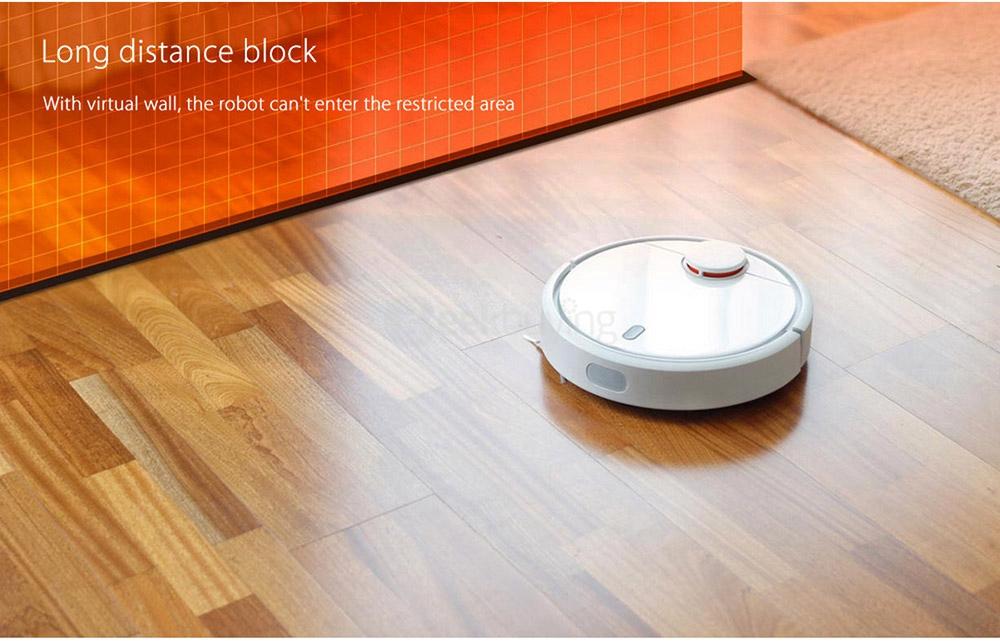 [Spagna Spazio] Robot Muro di Robot Aspirapolvere Xiaomi Mi per Aspirapolvere Robotico - Marrone