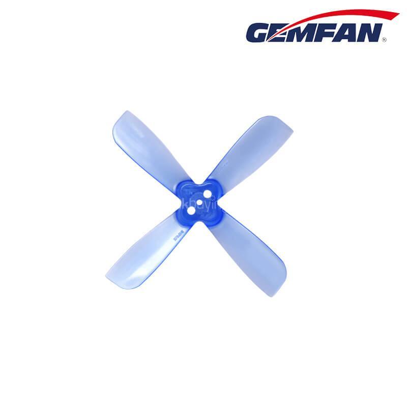 Gemfan 2035BN 2 X 3.5 4-pengéjű propeller 1.5mm szerelési furat CW CCW Micro Racing Quadcopter - kék