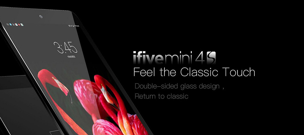 Ifive Mini 4S 7.9 Inch Tablet with 2K IPS Capacitive Touch Display Android 6.0 Rockchip RK3288  Quad Core 1.8Ghz 2GB/32GB AC WiFi Bluetooth
