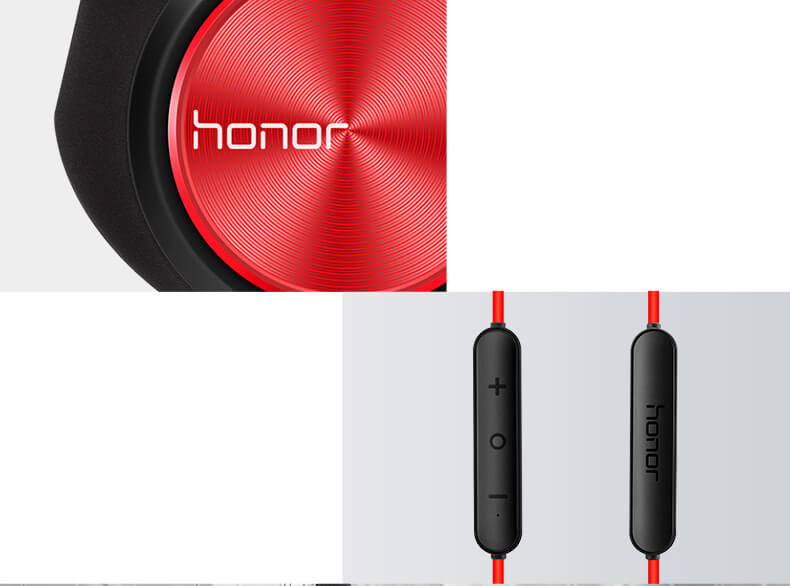 Huawei Honor xSport AM61 Wireless Bluetooth Earphone Headset Magnetic IPX5 Water Resistant with Mic - Black