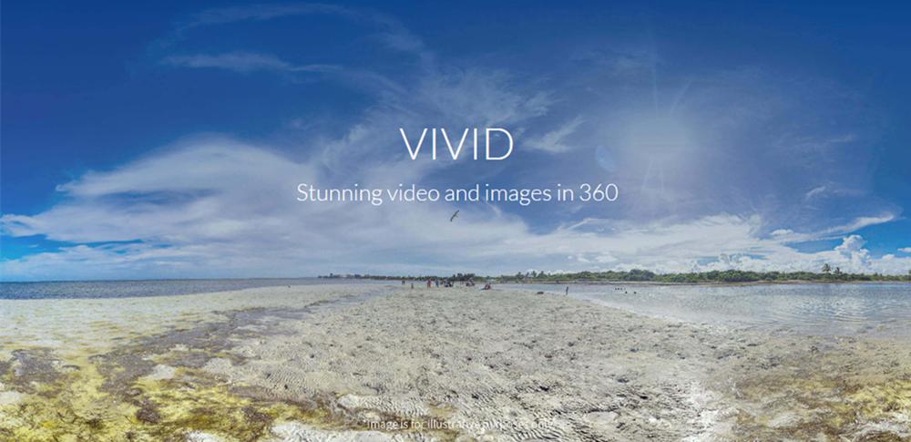 YI 360 VR กล้อง Ambarella H2V95 Dual SONY ภาพนิ่ง 377 องศาเลนส์คู่ 220K /  5 7fps วิดีโอ 30K / 4fps การเย็บอัตโนมัติ 30K สตรีมมิ่งแบบสด - สีขาว