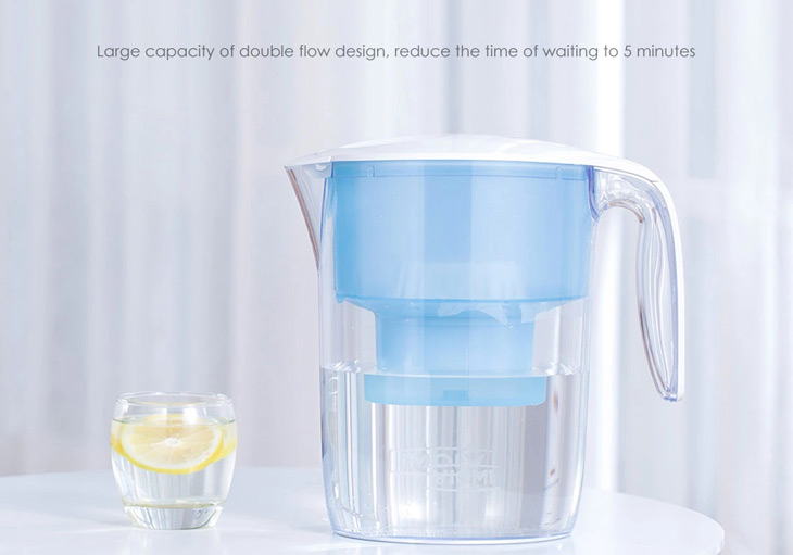 Xiaomi Viomi Hyper-energy Water Filter 3.5L Anti-bacteria Handheld Filtration Dispenser Cup