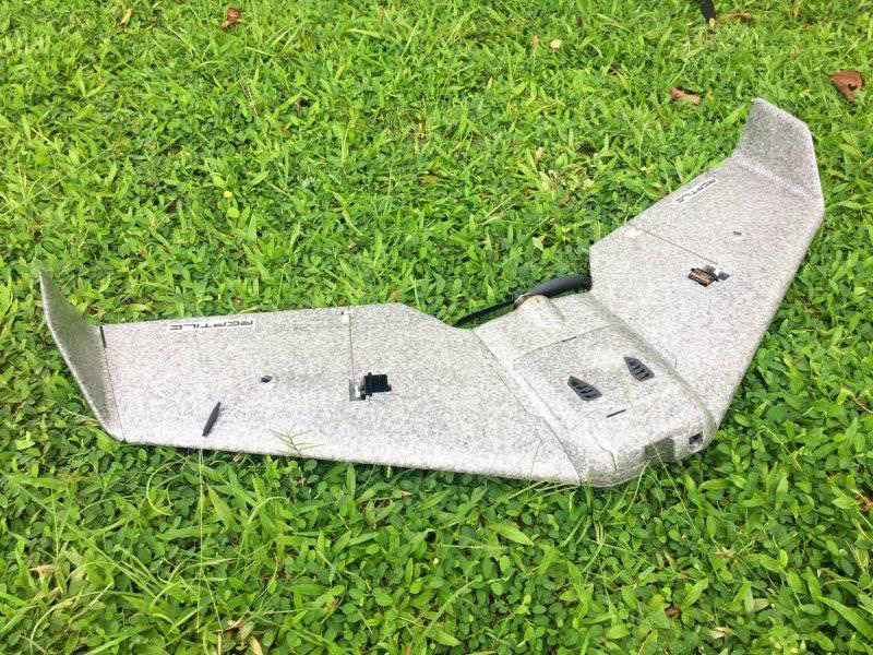 Reptile S800 V2 SKY SHADOW Racer EPP Wingspan 820mm FPV Flying Wing with FPV System RC Airplane - PNP Version