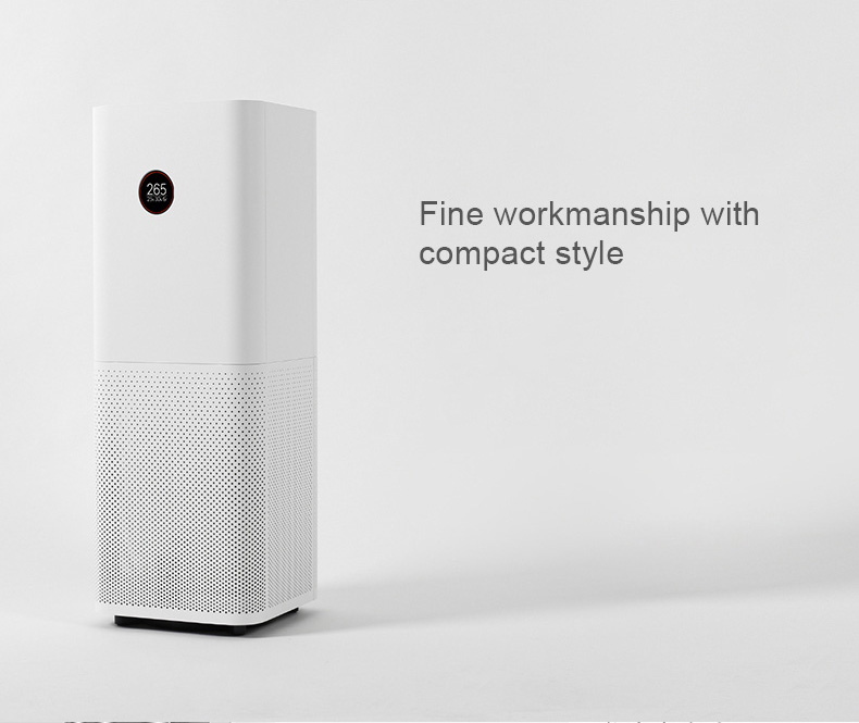 Original Xiaomi Mi Air Purifier Pro APP Control Light Sensor Multifunction Smart Air Cleaner - White