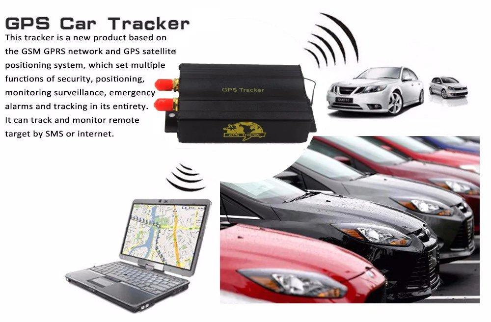 Remote Control Alarm SIM Card New TK103B GPS SMS GPRS Vehicle Tracker Locator