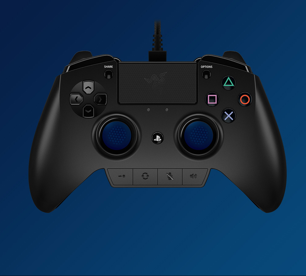 Razer Raiju Gaming Controller My name is raju and this is my #youtubegaming channel.i'm lifelong gamer. razer raiju original playstation 4 wired gaming controller with four programmable buttons 3 5mm audio port black