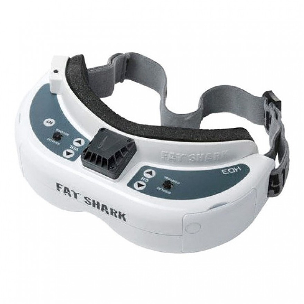[HK Stock] Fat Shark Dominator HD3 Core HD 720P FPV Goggles 16:9 N/P Auto Selecting Video Headset with HDMI DVR