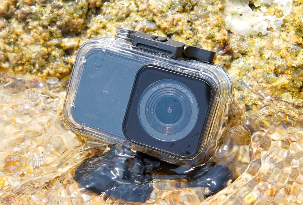 Original Xiaomi Mijia 4K Waterproof Case IP68 40m Diving Case For Xiaomi Mijia 4K Action Camera - Transparent + Black