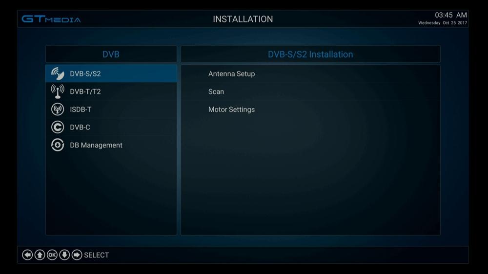 Freesat GTC Android TV BOX Satellite Receiver DVB-S2//C//T2 ISDB-T Amlogic S905D