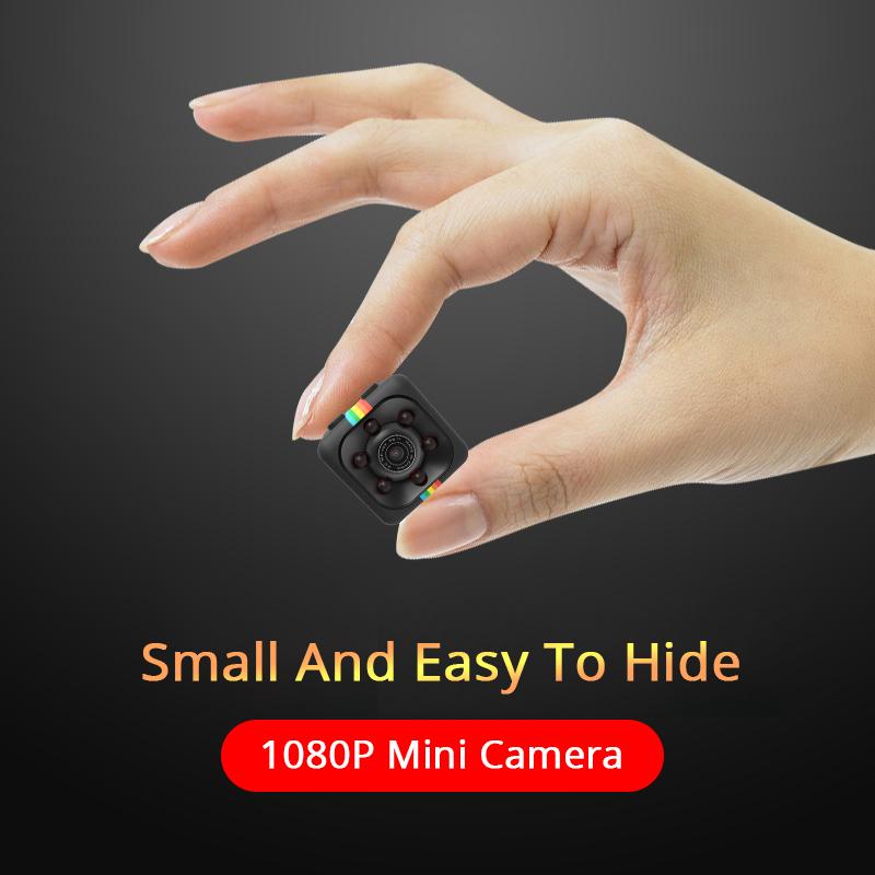 SQ11 HD 1080P Night Vision Camcorder Micro Cameras Mini Camera Cam DV Motion Recorder Camcorder -Black