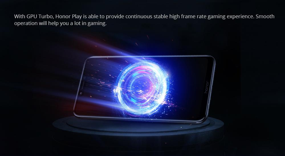HUAWEI megtiszteltetés Play 6.3 Inch 4GB 64GB okostelefon kék