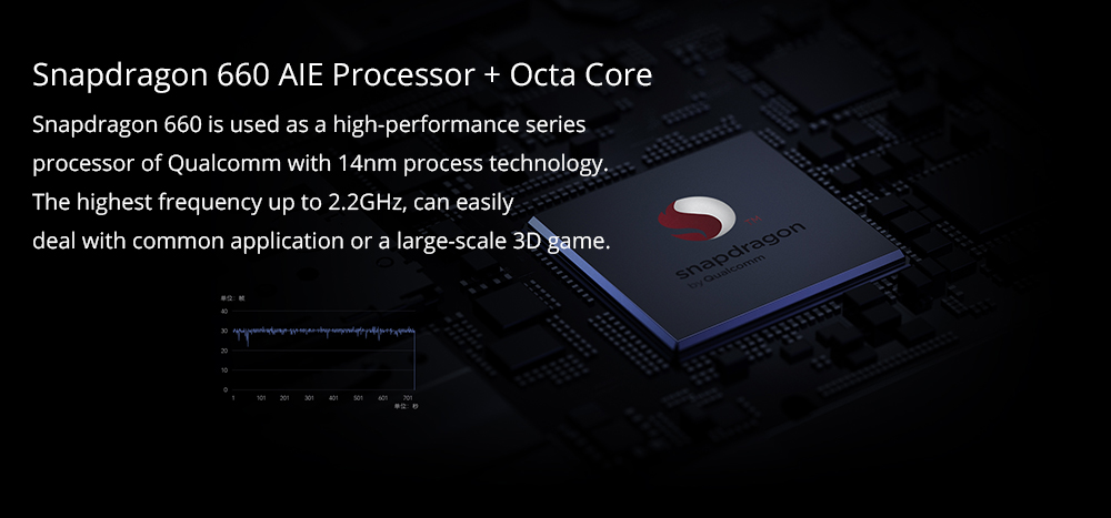 "Tablet PC WiFi Xiaomi Mi Pad 4 MIUI 9 Qualcomm Snapdragon 660 Octa Core 8 ""1920 * 1200 3GB DDR4 32GB eMMC - Dorado"