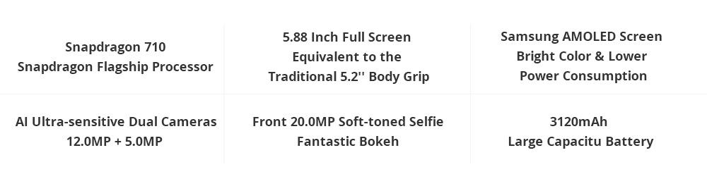 Xiaomi Mi8 SE 5.88 Inch 6GB 64GB Smartphone Gold