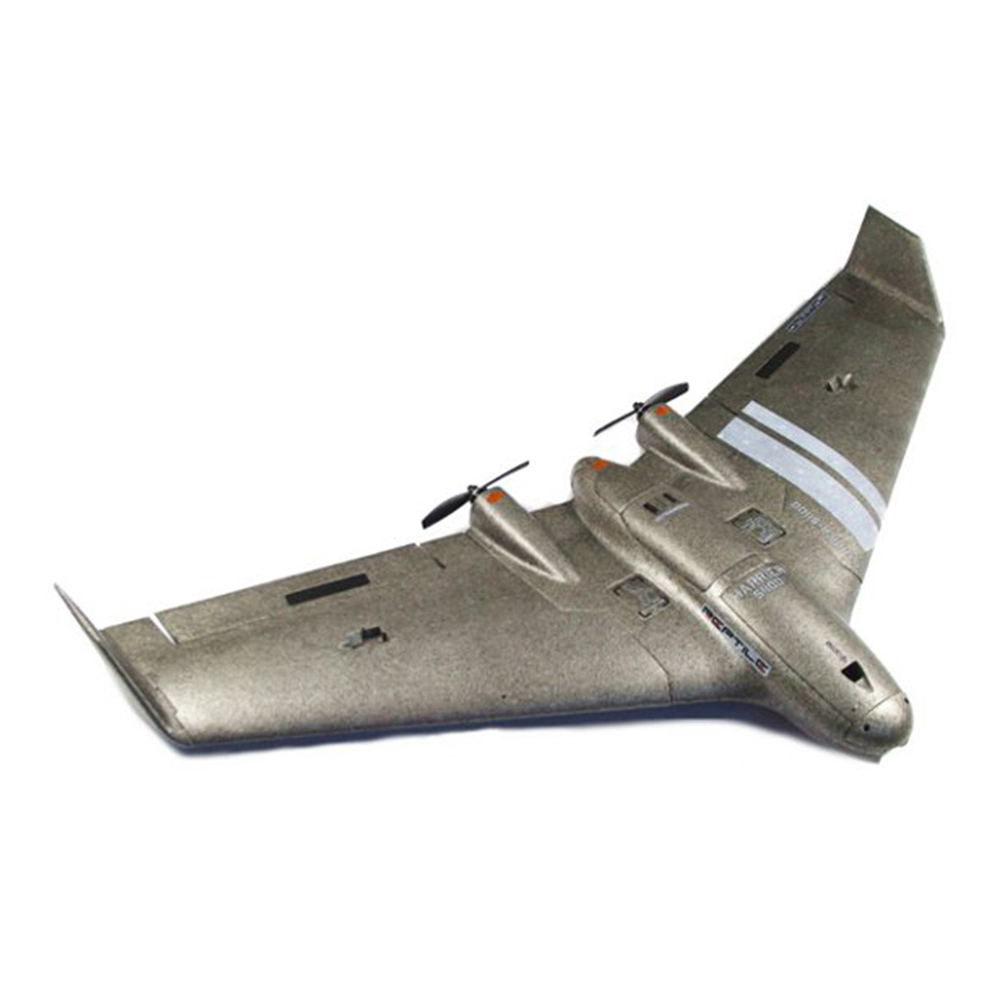 Reptile Harrier S1100 FPV Flying Wing EPP 1100mm Wingspan with Gyro RC Airplane PNP - Black