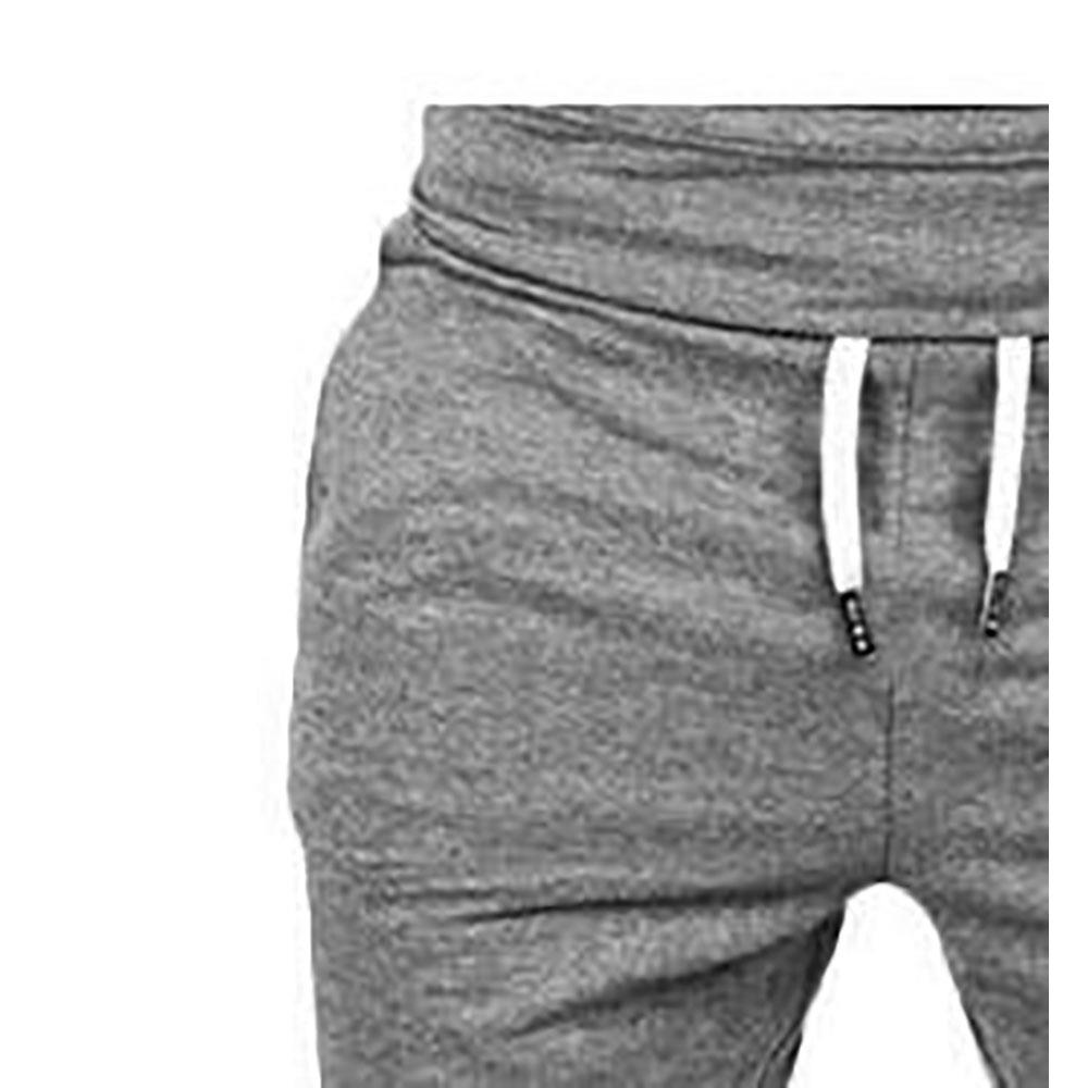 Férfi & # 39 hétköznapi sport nadrág rugalmas nadrág (méret S) sötét szürke