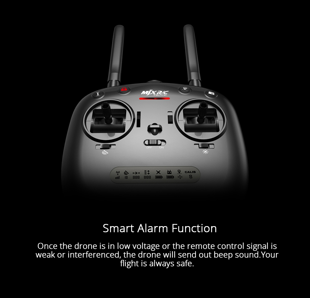 MJX Bugs 5 W B5W 1080P FHD 5G WIFI FPV RC Quadcopter With One-Axis Gimble GPS Follow Me Mode RTF - Three Battery