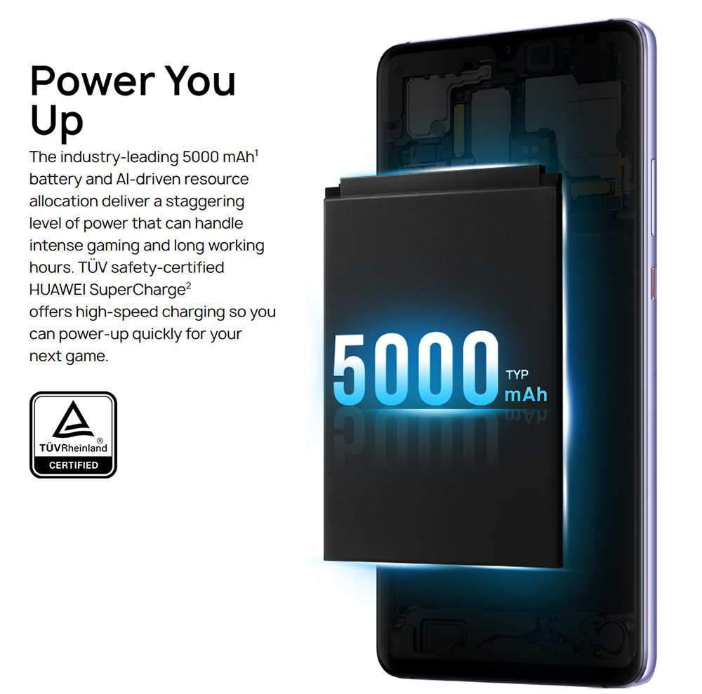 HUAWEI Mate 20 X 7.2 Inch 4G LTE Smartphone Kirin 980 6GB 128GB 40.0MP+20.0MP+8.0MP Triple Rear Cameras Android 9.0 NFC IR Remote Control Touch ID - Midnight Blue