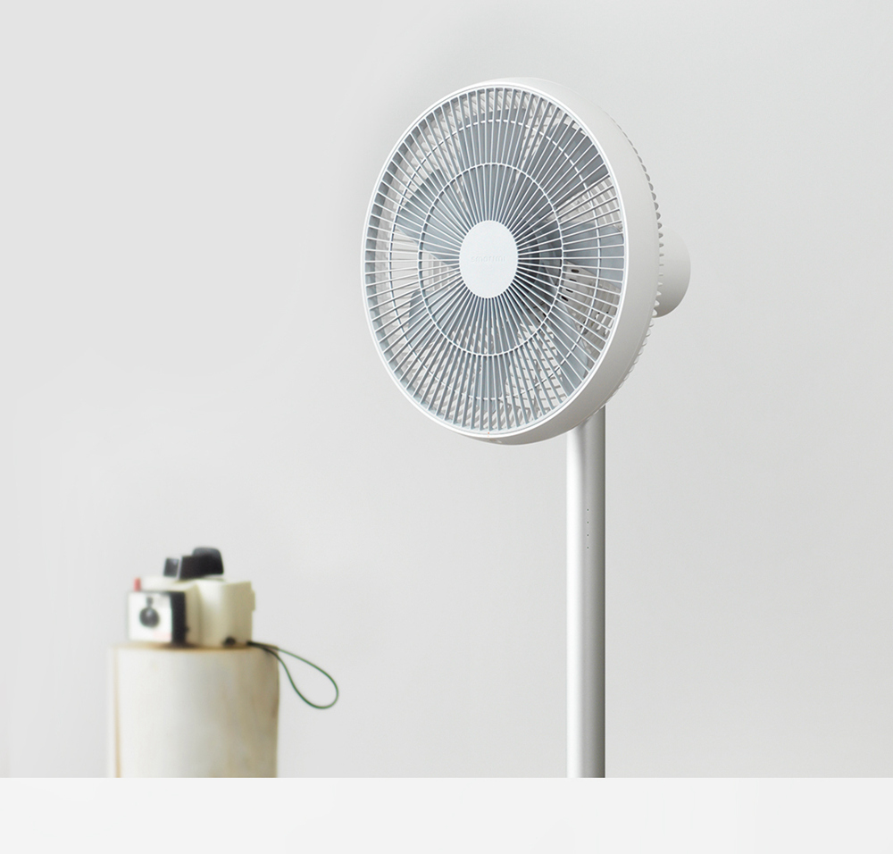 Xiaomi Smartmi Natural Wind Floor Fan 2S with MIJIA APP Control - White