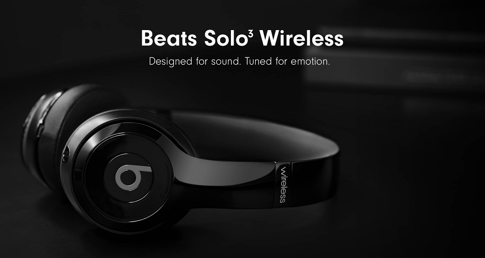 Beats Solo3 Wireless Bluetooth Headphones Gray