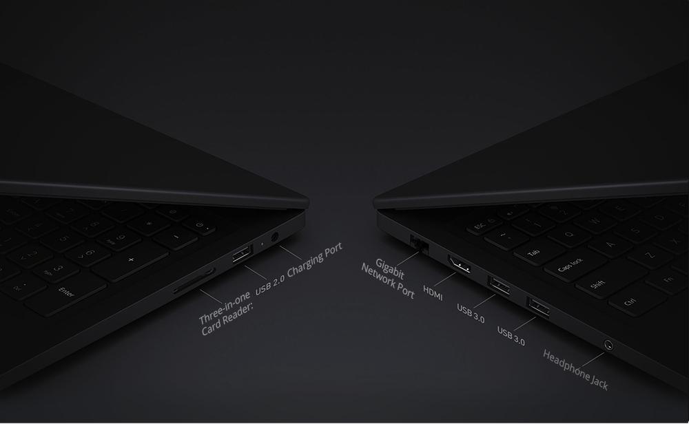 """Xiaomi Mi Notebook Pro Intel Core i5-8250U Quad Core 15.6"""" 1920*1080 8GB DDR4 256GB SSD NVIDIA GeForce MX110 2019 New Version - Dark Grey"""