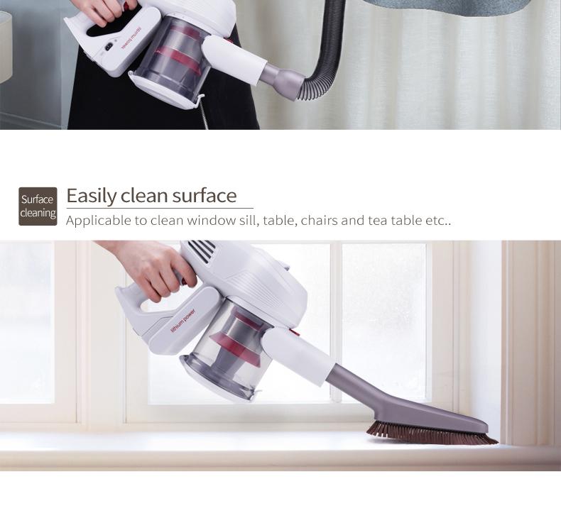 Tubo elastico originale + Kit spazzolino morbido per Xiaomi JIMMY JV51 Aspirapolvere leggero senza cordone - Grigio