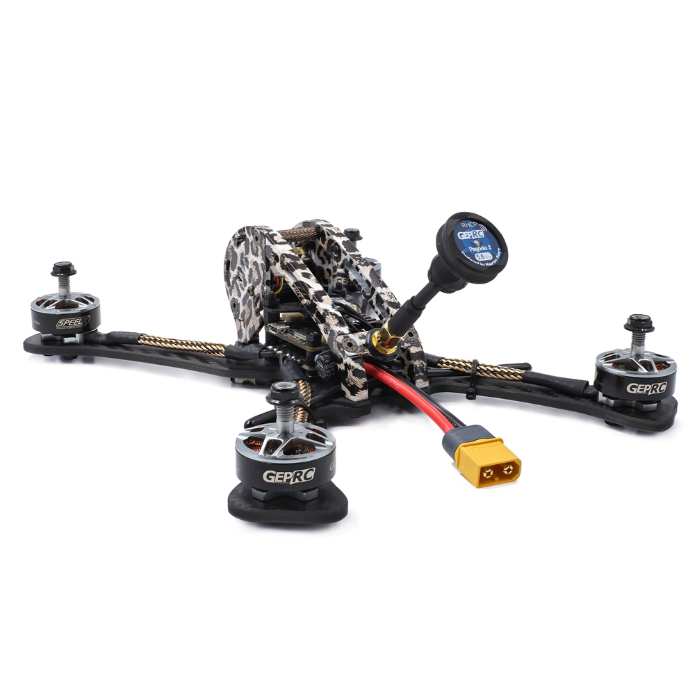 GEPRC GEP-LSX5 230mm 5 inches FPV Racing Drone With SPAN F4 40A BLHeli_S ESC 48CH 600mW VTX Caddx Ratel Cam BNF - Frsky XM+