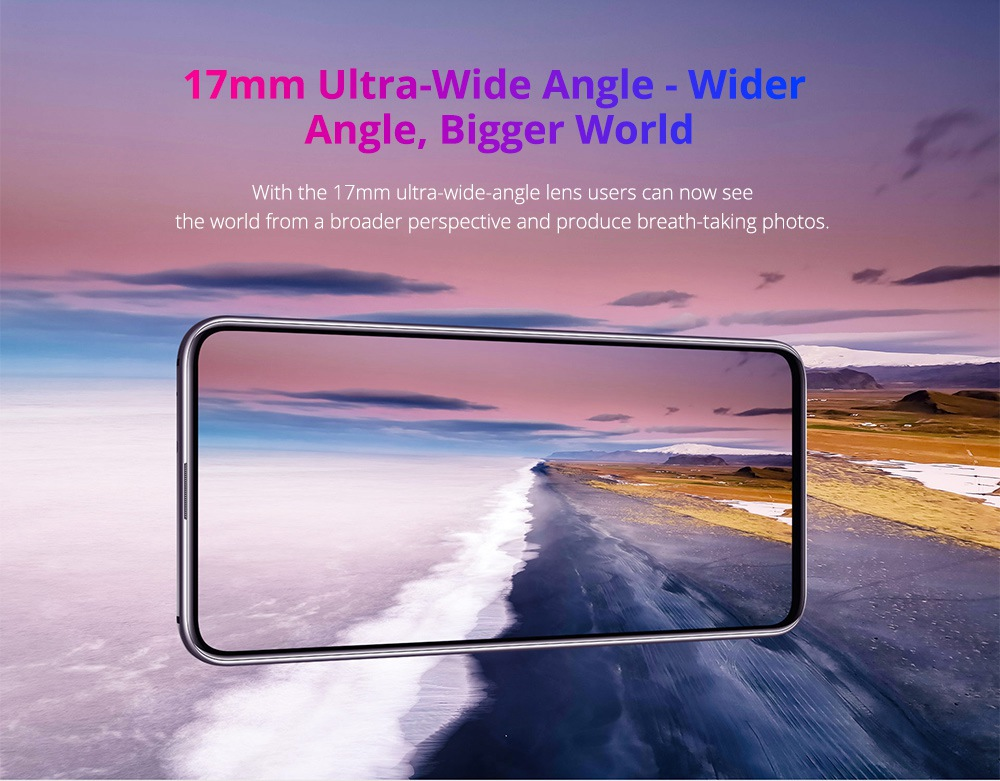 HUAWEI Honor Magic 2 6.39 Inch 4G LTE Smartphone Kirin 980 8GB 128GB 16.0MP+24.0MP+16.0MP Triple Rear Cameras Android 9.0 Type-C NFC In-display Fingerprint - Black