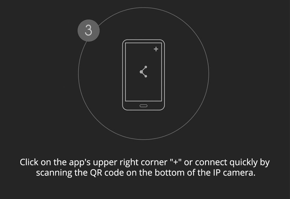 Xiaomi Mijia H.265 1080P Caméra IP AI détection de mouvement Baby Monitor 360 pan-tilt Webcam - Blanc