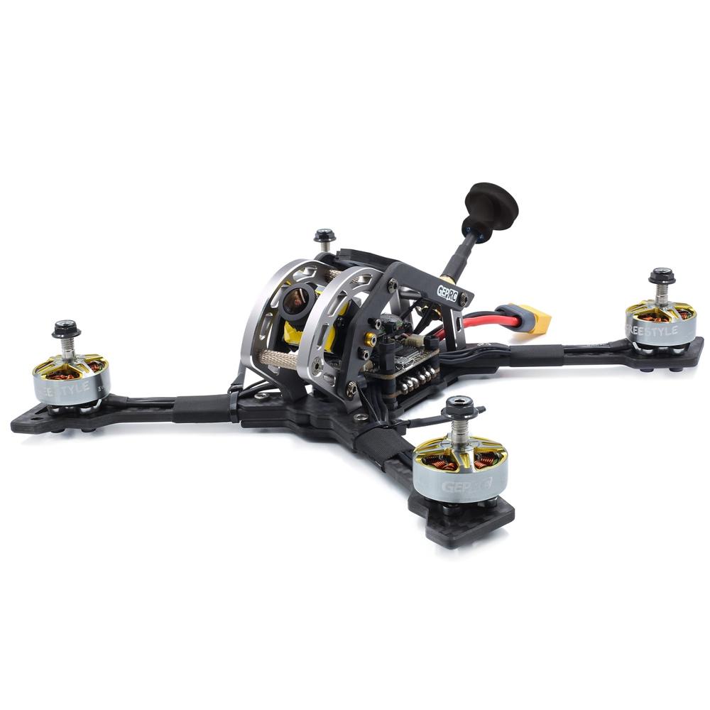 GEPRC Mark3 225mm 5inch 6S FPV Racing Drone SPAN Pro F4 BLheli_32 50A Tower w/800mW VTX Caddx Ratel Cam PNP