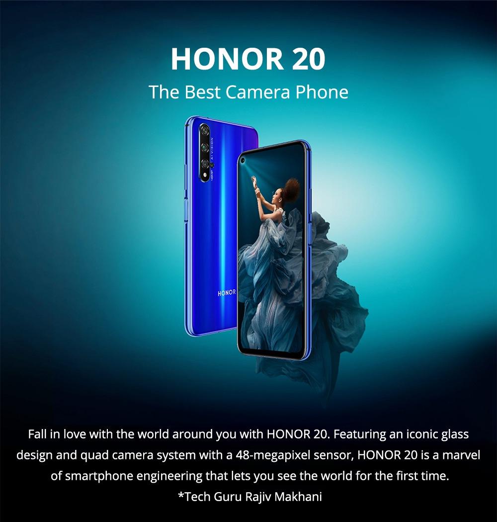 huawei honor 20 6.26 cala 48mp quad rear aparat
