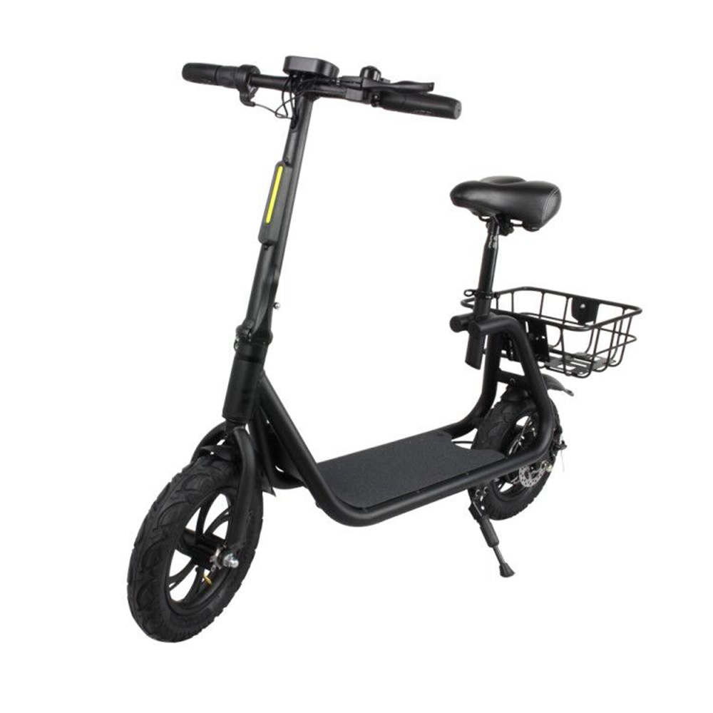 Eswing M11 Folding Electric Scooter 350W Motor 12 Inch Tire Double Disc Brake System-Green