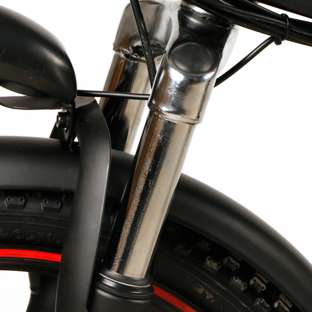 Samebike 20LVXD30 Portable Folding Smart Electric Moped Bike 350W Motor Max 35km/h 20 Inch-Black