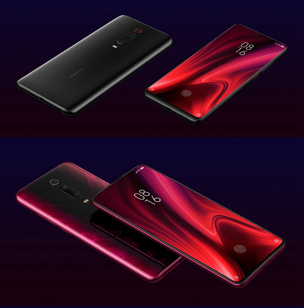 Xiaomi Mi 9T Pro 6.39 Inch 4G LTE Smartphone Snapdragon 855 6GB 64GB 48.0MP+8.0MP+13.0MP Triple Rear Cameras MIUI 10 In-display Fingerprint Fast Charge Global Version - Blue