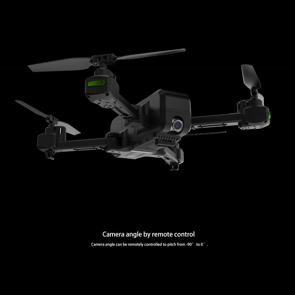 JJRC H73 5G WIFI FPV GPS Foldable RC Drone Quadcopter with 2K Camera Single-axis Gimbal RTF - Black