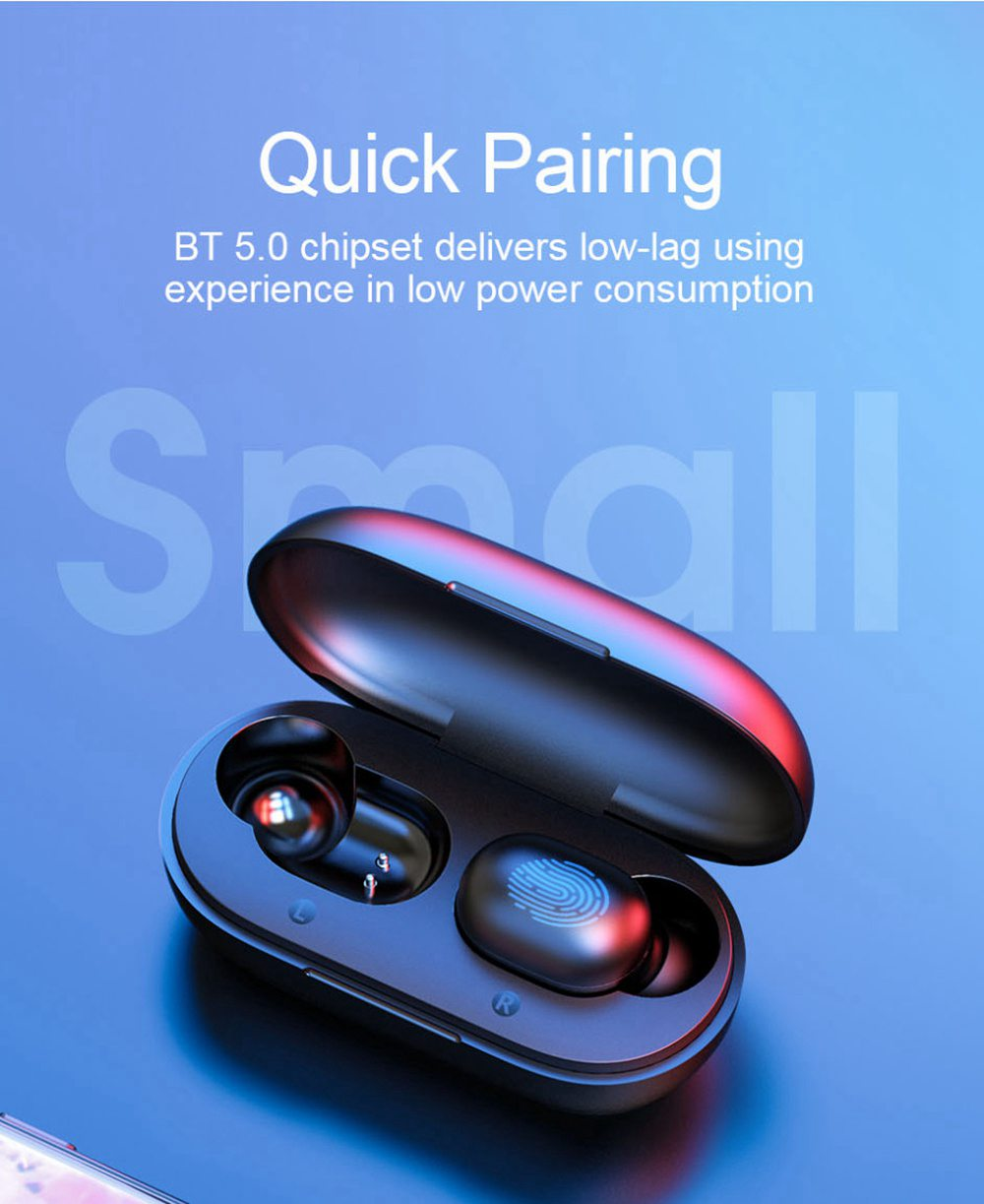 Haylou GT1 Bluetooth 5.0 TWS Earphones in-Ear Siri Google Assistant IPX5 Noise Isolation