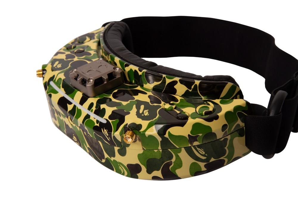 Skyzone SKY03O OLED Display 1024 X 768 5.8G 48CH Diversity FPV Video Goggles With FAN HDMI Head Tracking - Camouflage