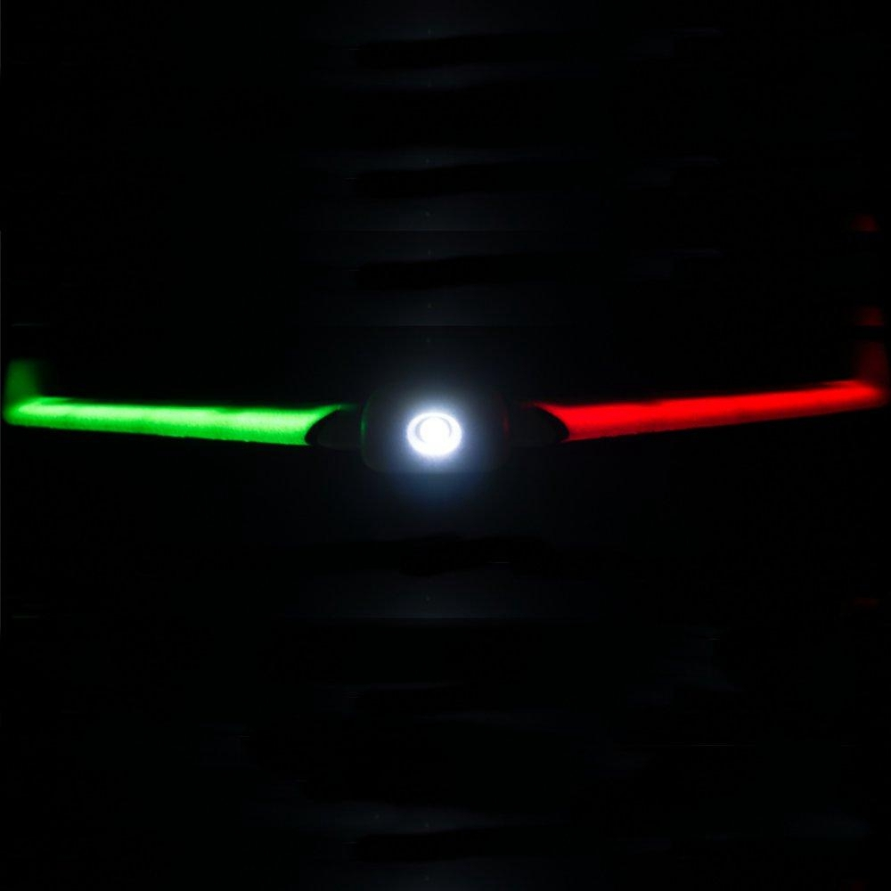 ZOHD Orbit Neon FPV Night Flying Wing 900mm Wingspan EPP Integrated LED Light Strip RC Airplane PNP