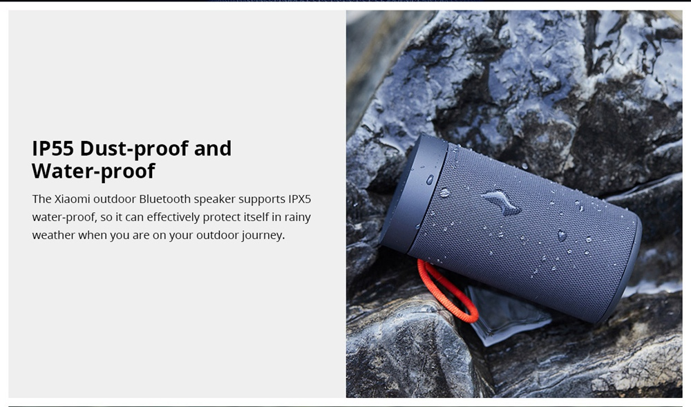 Image result for Mi Outdoor BT Speaker
