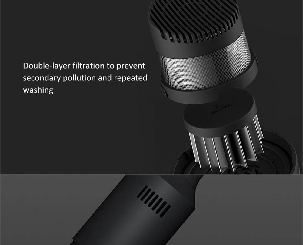 Xiaomi Youpin Shunzao Z1 Portable Handheld Vacuum Cleaner USB Wireless Charging Standard Version - White