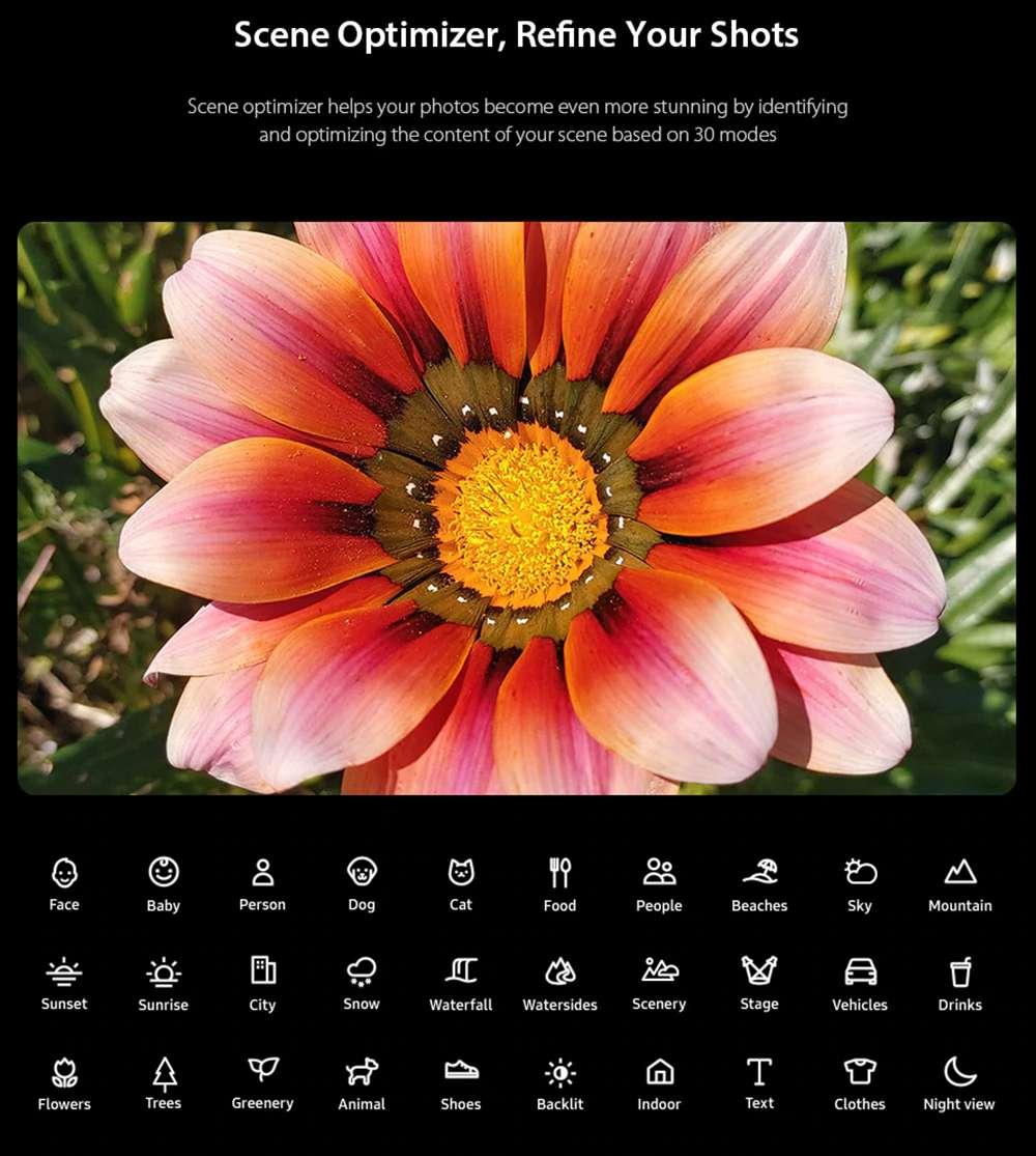Samsung Galaxy A80 4G Smartphone 6.7 Inch Snapdragon 730G 8GB 128GB 48.0MP+8.0MP+3D Depth Camera Triple Rear Cameras NFC Fingerprint ID Dual SIM Android 9.0 - Black
