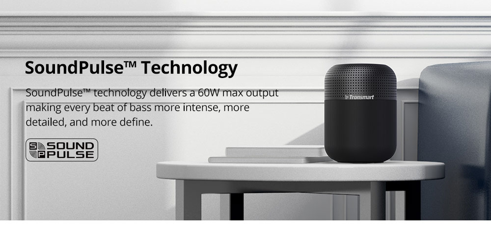 Tronsmart Element T6 Max 60W Home Bluetooth Speaker