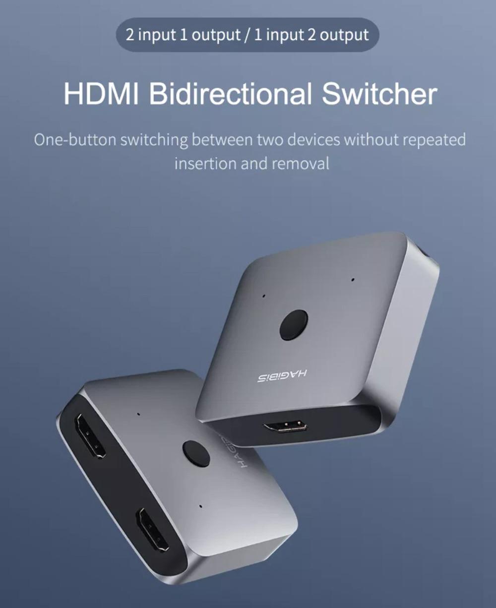 Hagibis Hdmi 2 0 Smart 4k Hd Splitter