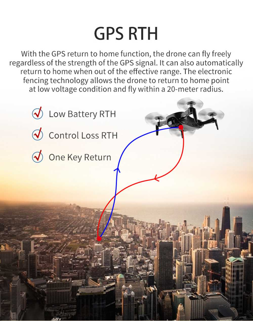 JJRC X12 AURORA 4K 5G WIFI 1.2km FPV GPS Foldable RC Drone With 3Axis Gimbal 50X Digital Zoom Ultrasonic Positioning RTF - White Two Batteries with Bag