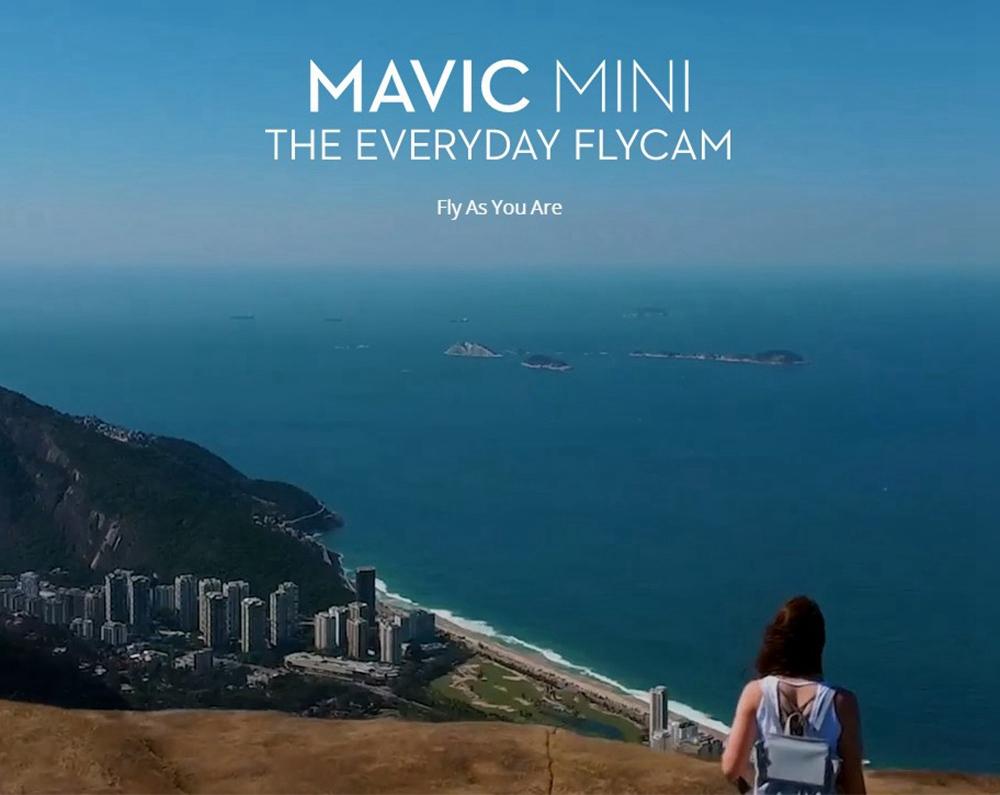 Dji Mavic Mini 4km Fpv Gps Foldable Rc Drone Fly Combo Version White