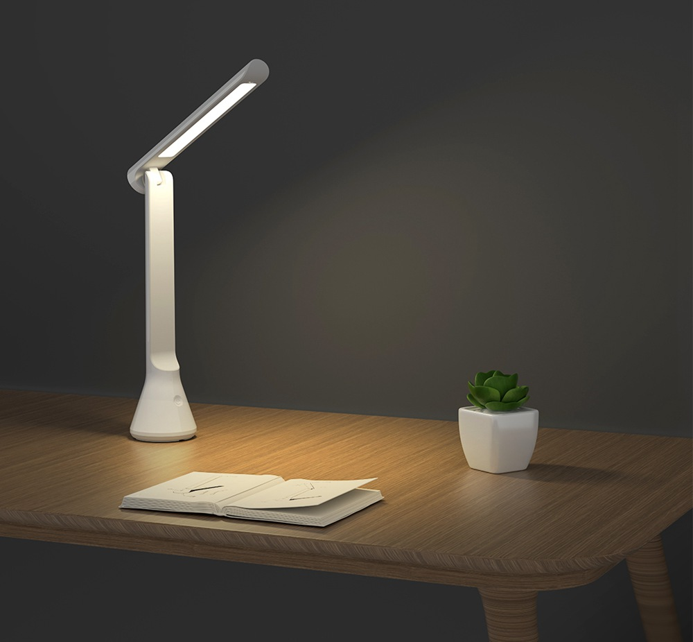 Xiaomi Yeelight YLCT03YL LED Table Lamp Foldable USB Chargeable Dimmable - White