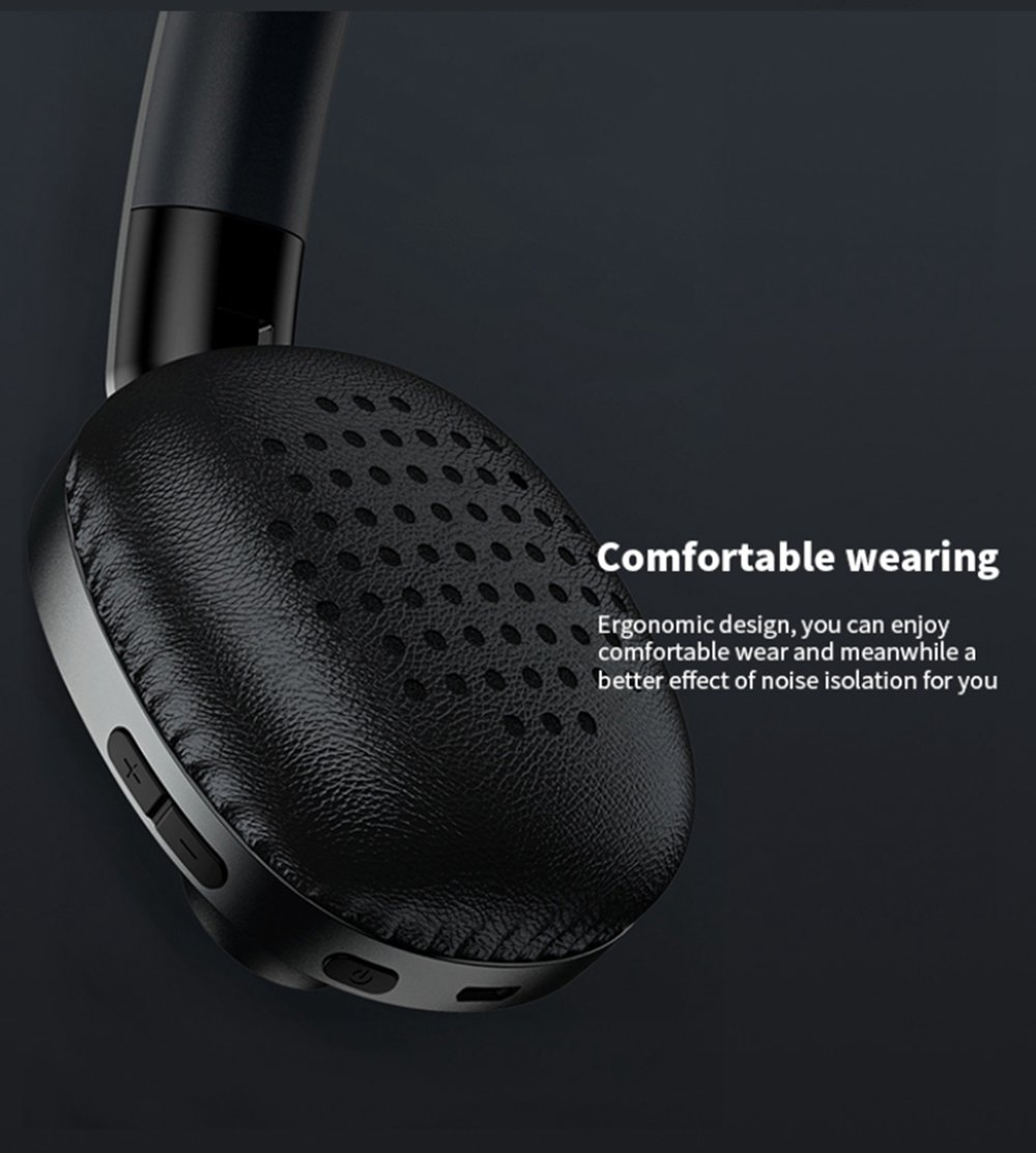 REMAX RB-550HB Bluetooth 5.0 Wireless HIFI Headset Noice Cancelling With Mic