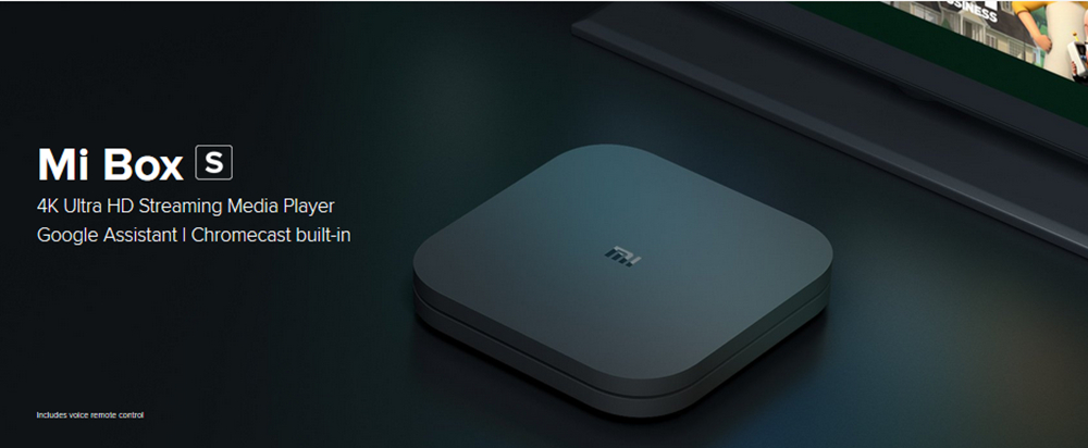 [HK Stock] XIAOMI Mi Box S Android TV 8.1 2GB / 8GB 4K TV BOX na may Voice Remote Dolby DTS Chromecast AC Wifi Bluetooth Certified-Official International Version