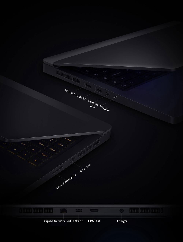 "Xiaomi Mi Gaming Notebook Intel Core i5-9300H Quad-Core 15.6"" 1920*1080 Windows 10 8GB RAM 512GB SSD - Grey"