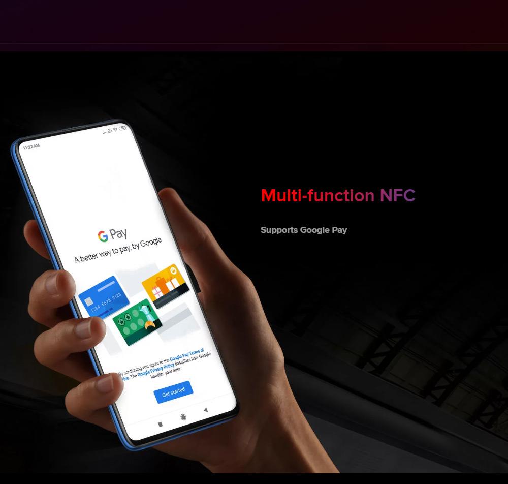 Xiaomi Mi 9T 6.39 Inch 4G LTE Smartphone Snapdragon 730 6GB 64GB 48.0MP+8.0MP+13.0MP Triple Rear Cameras MIUI 10 In-display Fingerprint Fast Charge Global Version - Blue